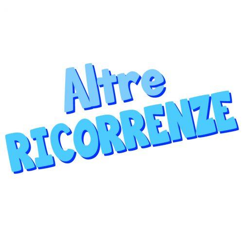 ALTRE RICORRENZE